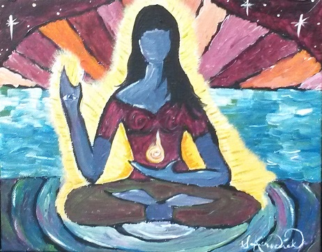 Divine Light:  It flows through each of us & radiates from us.