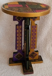 Table inspired by Illuminated Manuscripts- SOLD