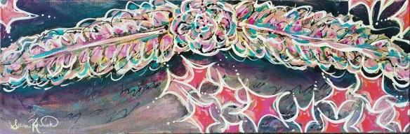 StarFlight- acrylic on canvas