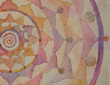 Spiral Mandala Closeup